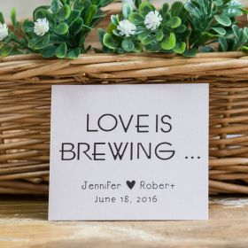 love is brewing gift tags EWFR042