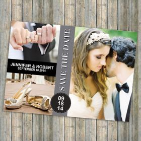 affordable morden photos save the date cards EWSTD039