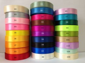 cheap 1/4″ 3/4″ 1-1/2″ satin ribbon spool of 25 yards as low as $1.3