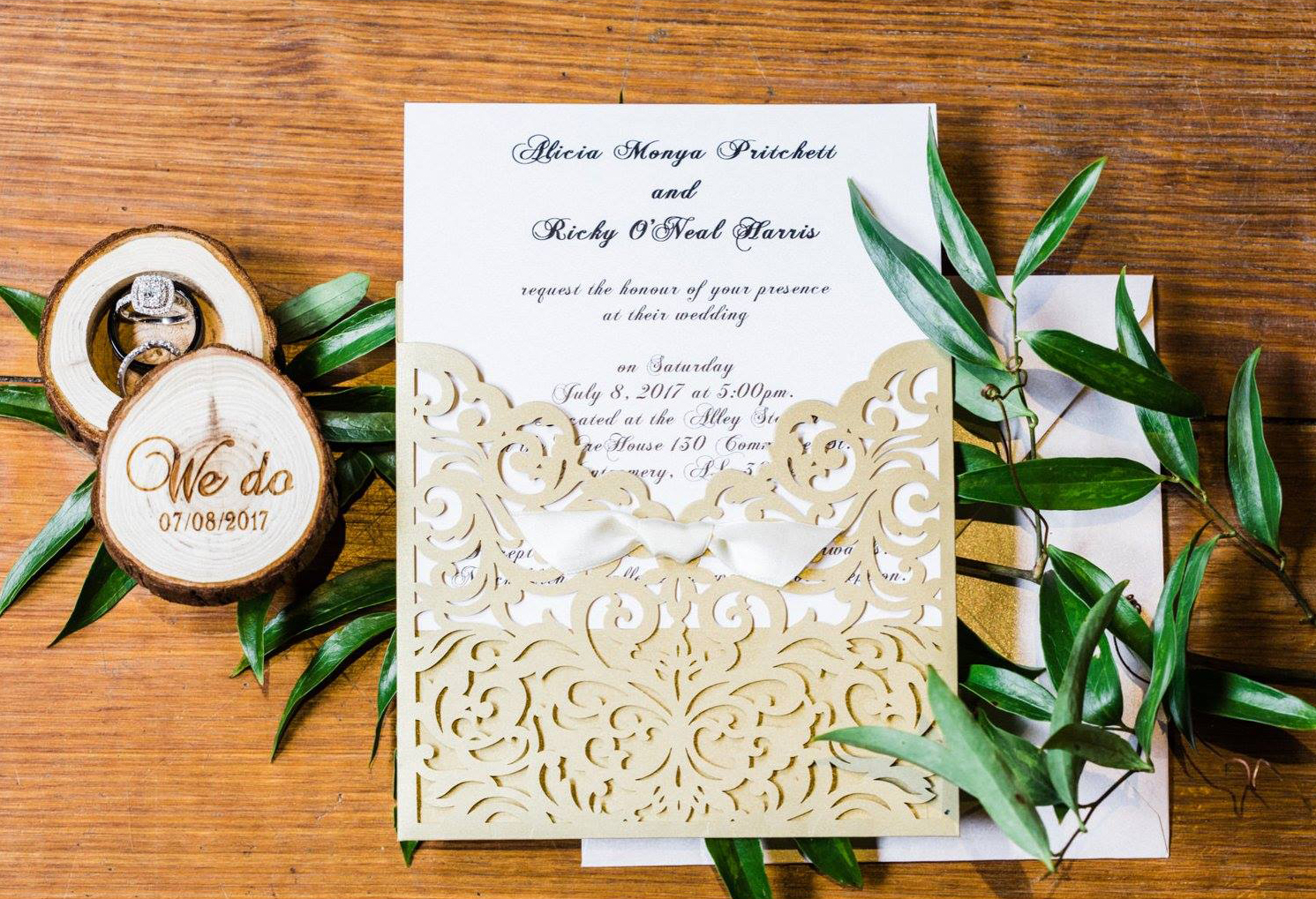 Affordable Wedding Invitations With Response Cards At Elegant Wedding  Invites