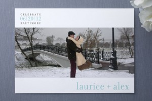 Photo Save-The-Date Invitations