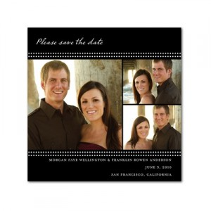 Simple Glamour - Save the Date Cards