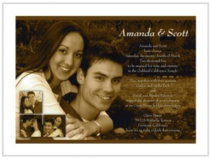 Modern Wedding Invitations For Cheap