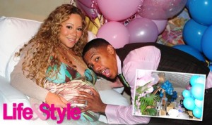 Mariah Carey Pink Themed Baby Shower