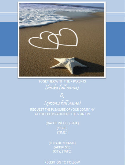 Beach wedding invitations wording ideas elegantweddinginvites blog perhaps filmwisefo