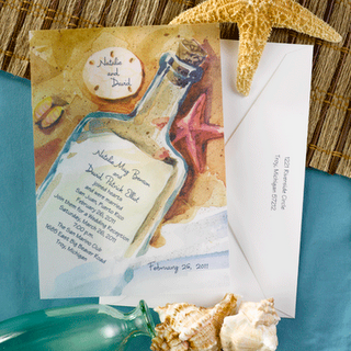 start writing your toast - Beach Wedding Invitation Wording