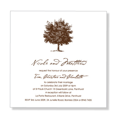 Formal Wedding Invitation Wording Samples