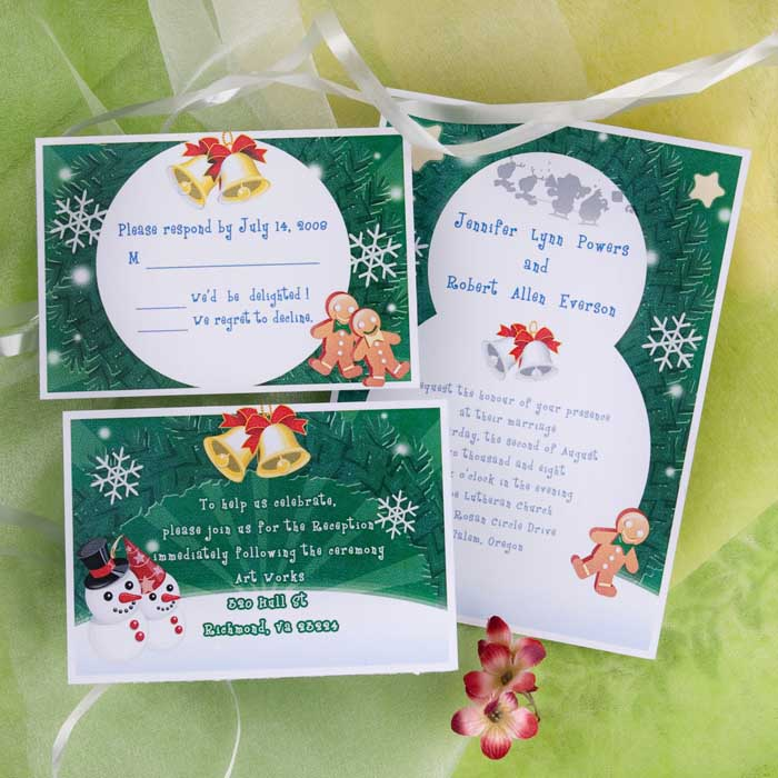 Ideas For Your Winter Wedding Invitation Ideas(Parte Three