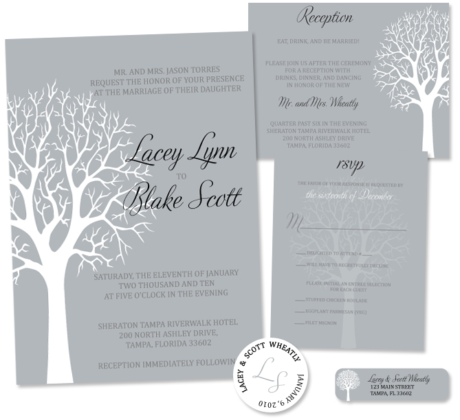 Ideas For Your Winter Wedding Invitation IdeasParte two