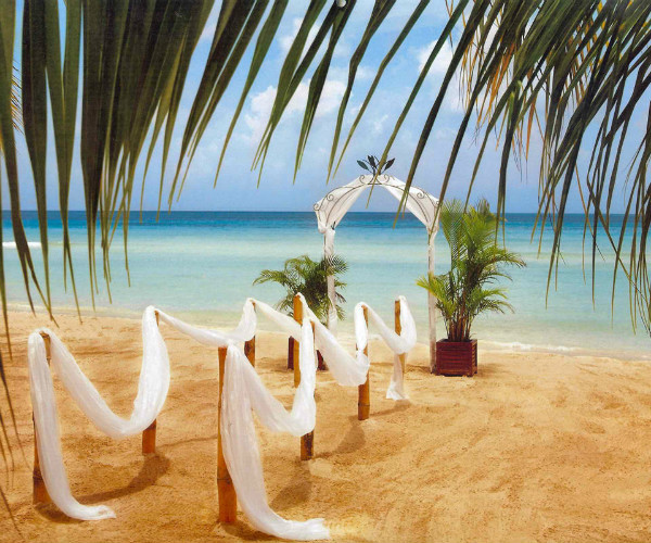 beach theme wedding backdrops