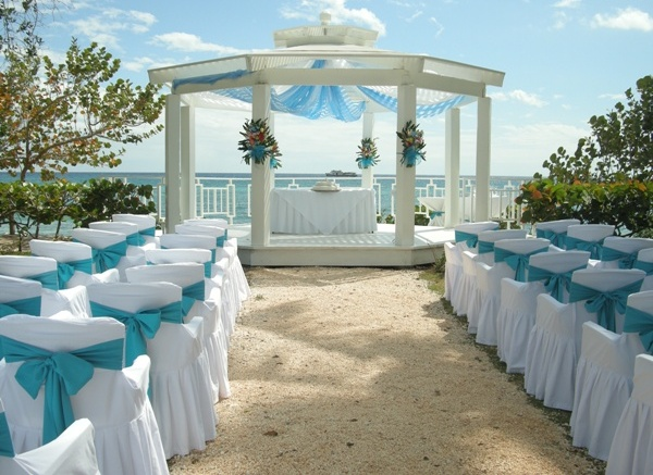 beach wedding backdrops