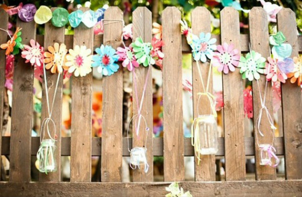 diy wooden backdrop