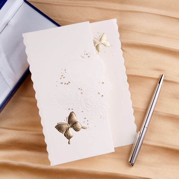 The Best Choice For A Butterfies Wedding Invitation ...