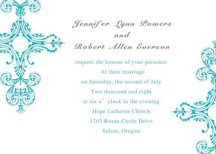 Elegant Inexpensive Wedding Invitations: Cheap Wedding Invitations For The Nuptial