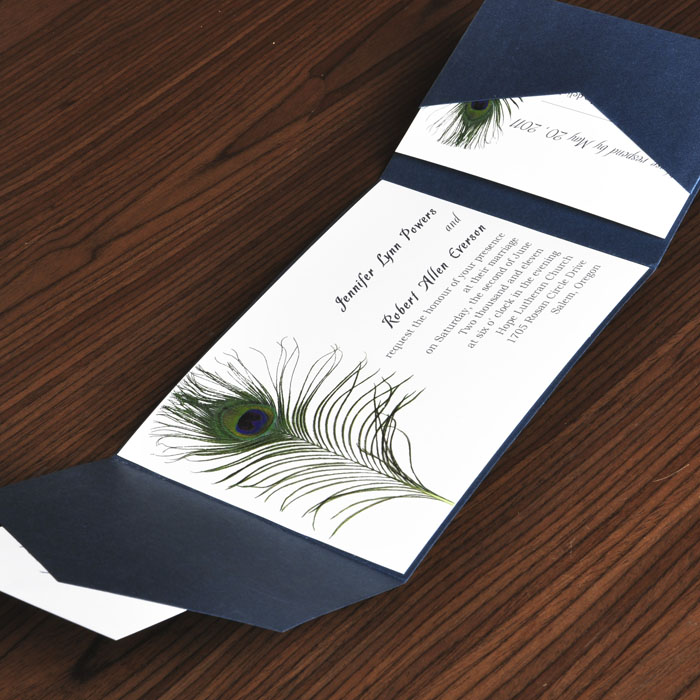 peacock wedding invitations and wedding ideas, Wedding invitations