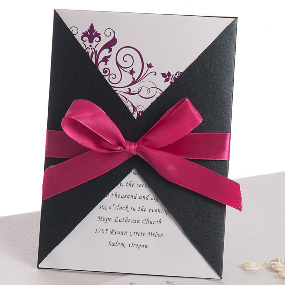 cheap pocket wedding invitations from elegantweddinginvites, Wedding invitations