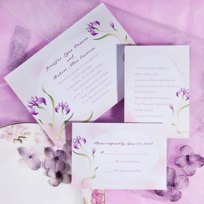 Lavender Inspired Wedding Color Ideas and Wedding Invitations ...