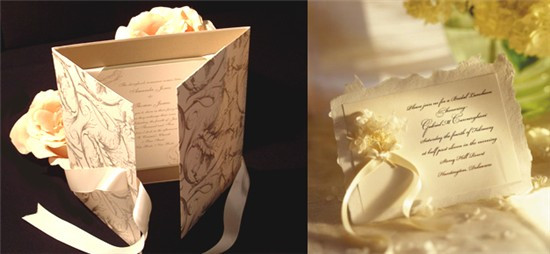 Traditional Elegant Wedding Invitations: Elegant Wedding Invitations To Set The Tone For Your Big