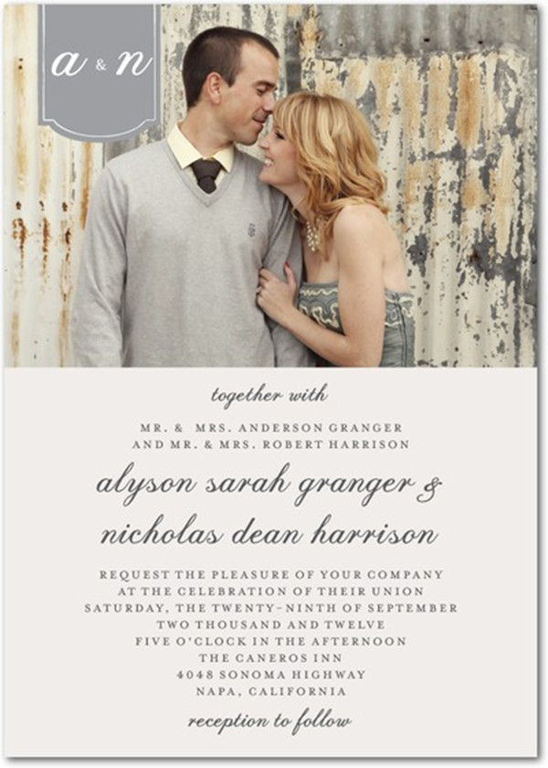 top 5 photo wedding invitations to set the mood for your big day, Wedding invitations