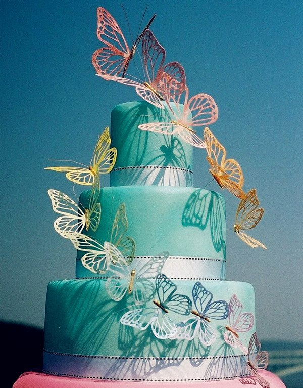 Top 5 Butterfly Wedding Invitations and Wedding Cakes – Elegant Butterfly Wedding Invitations