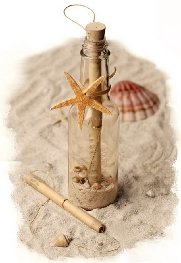 Creative Beach Wedding Invitations In A Bottle
