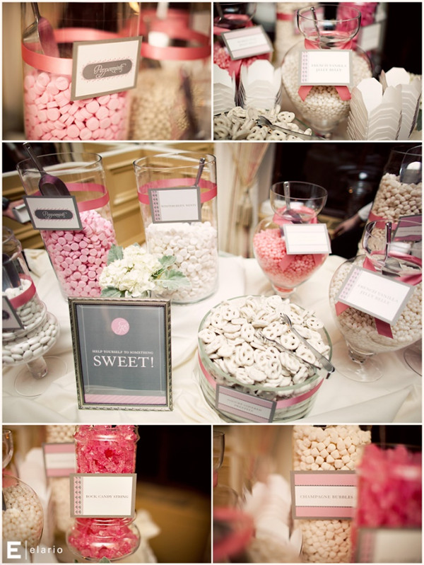 gray and pink wedding ideas