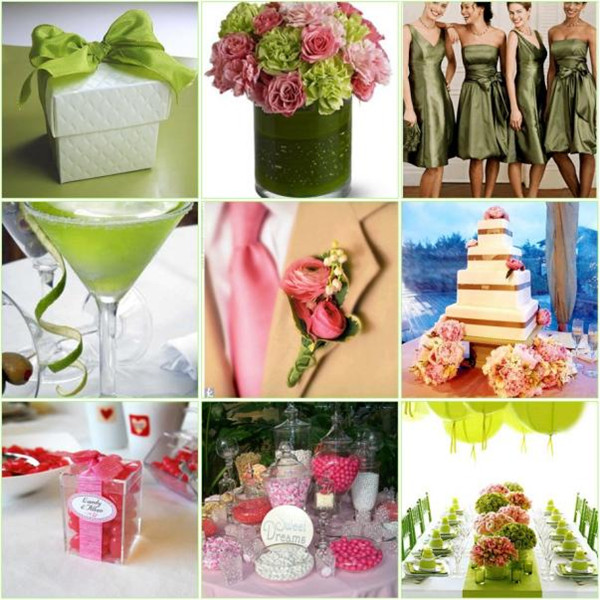 Pink color combination wedding ideas elegantweddinginvites blog pink and green wedding ideas junglespirit Gallery
