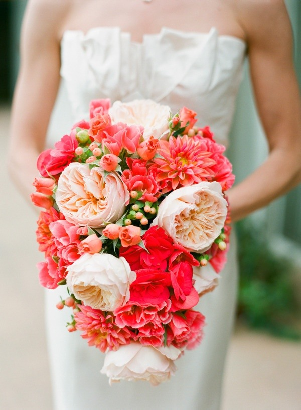 Pink and Coral Wedding