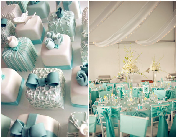 Tiffany Blue Theme Weddings Wedding Supplies