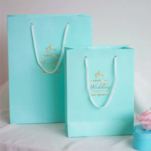 tiffany blue wedding favor bags