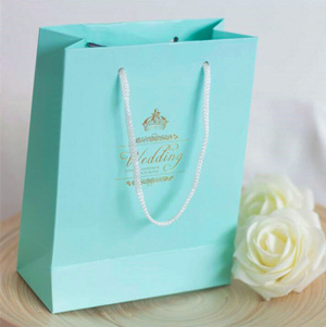 tiffany blue wedding theme inspired wedding favor bags