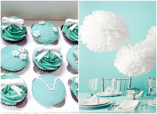 Charming Tiffany Blue Wedding Theme