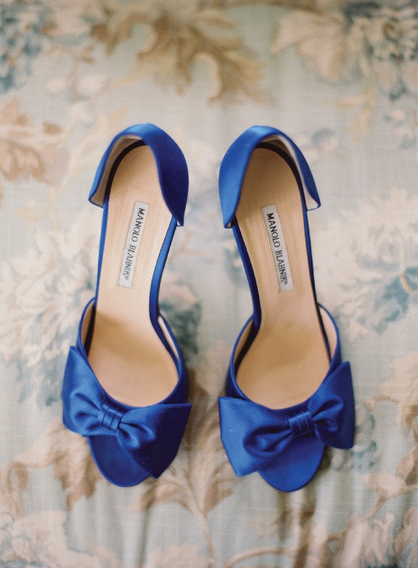 wedding shoes for blue theme weddings