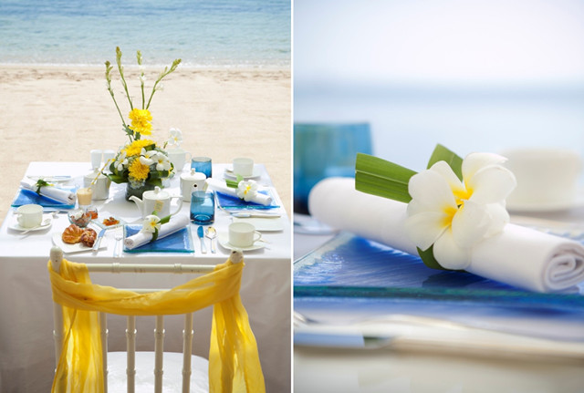 beach bridal shower decor