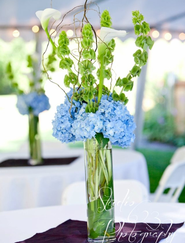 blue and green wedding~