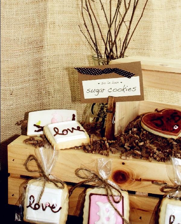 country rustic bridal shower