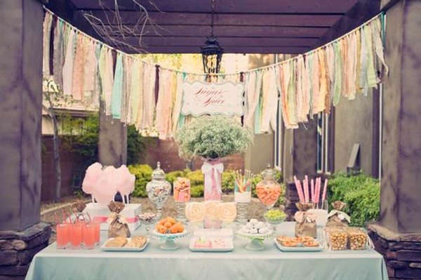 sugar and spice bridal shower