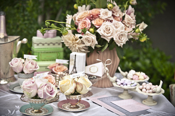 tea party bridal shower~