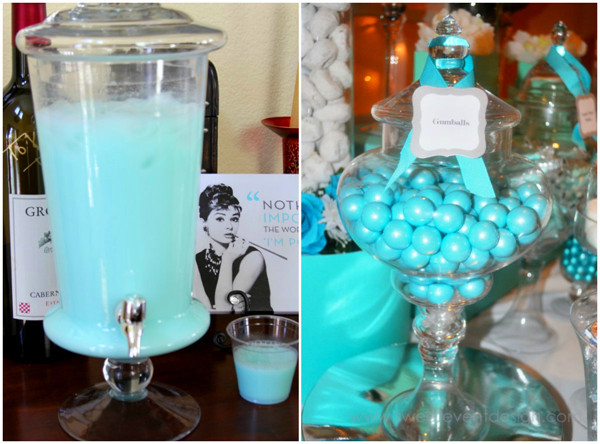 tiffany bridal shower party