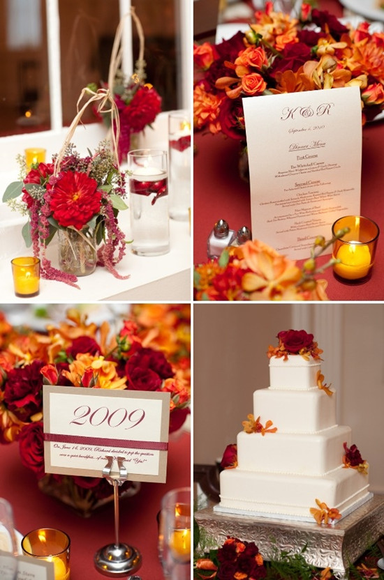 Wedding Flower Decorations For Fall