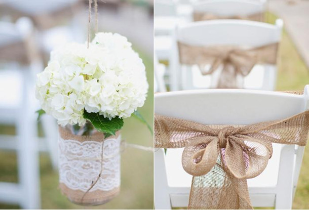 Best burlap wedding ideas 20132014 elegantweddinginvites blog burlap wedding decoration idea junglespirit Image collections