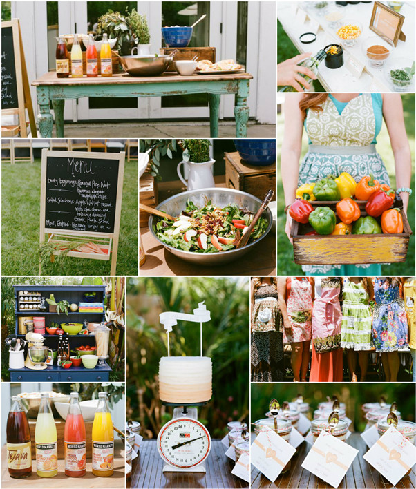 cooking theme bridal shower ideas