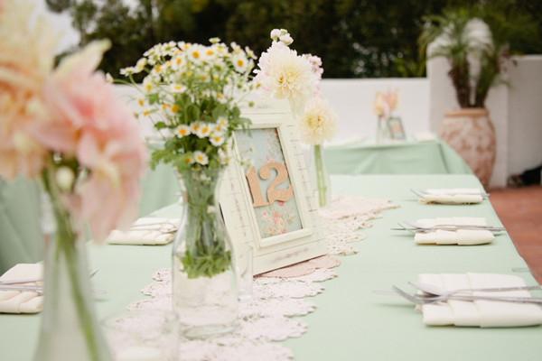 Peach And Mint Wedding Ideas
