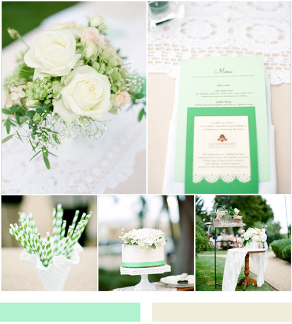 Mint Wedding Ideas and Wedding Invitations – Elegantweddinginvites ...