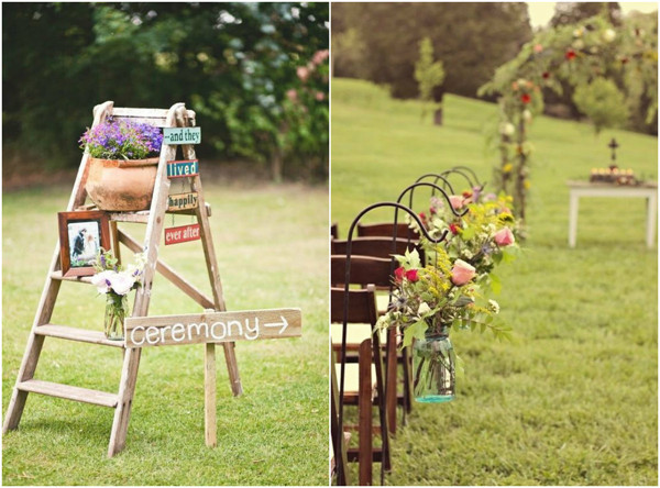 rustic outdoor wedding ideas