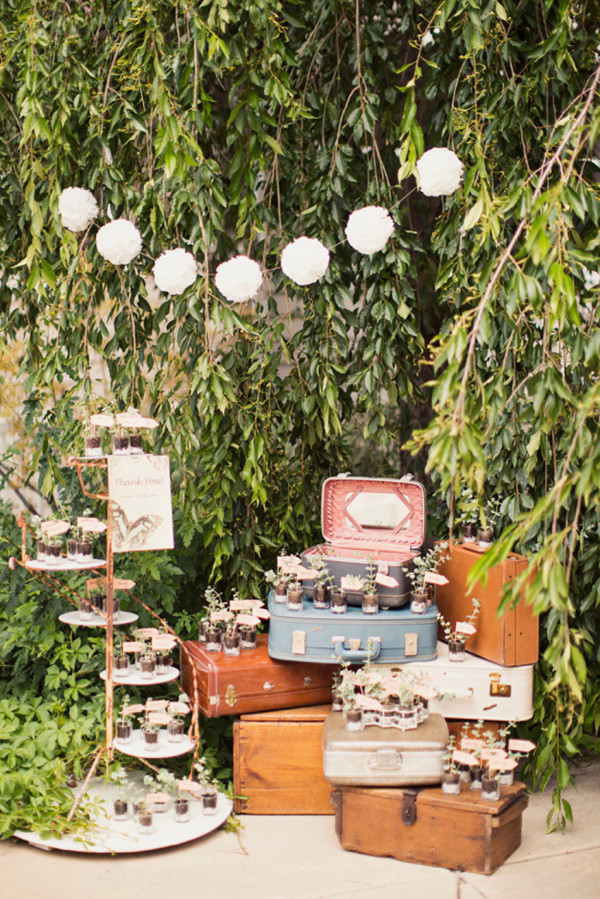 rustic vintage bridal shower