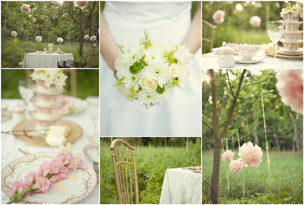 vintage bridal shower inspiration