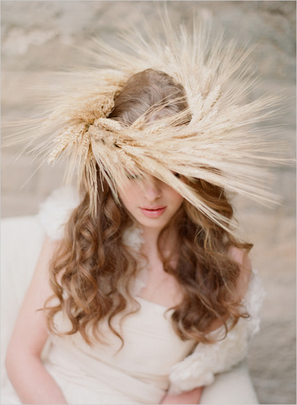 2013 rustic fall wedding bridal look inspirations and hairstyles