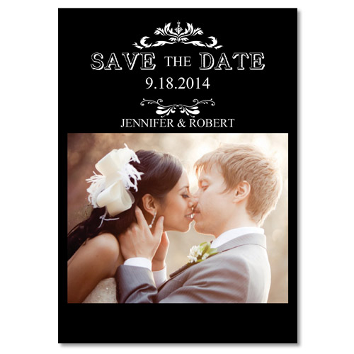 2014 affordable wedding photo save the date samples