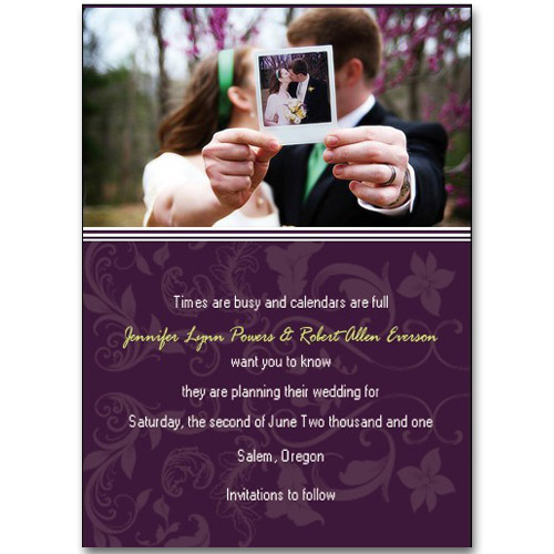 Top  Save The Date Cards For  Weddings